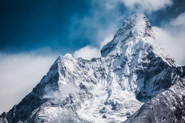 Gebirgsmassiv in Nepal